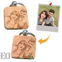 מחזיק מפתחות עם תמונה לזוגות