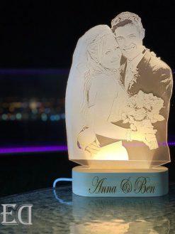 מנורת לילה מתנה לגבר מתנה לאישה-2